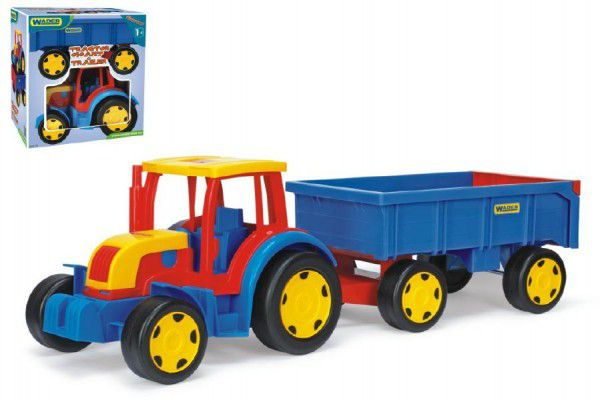 Gigant Wader Traktor s vlekem plast 102cm v krabici