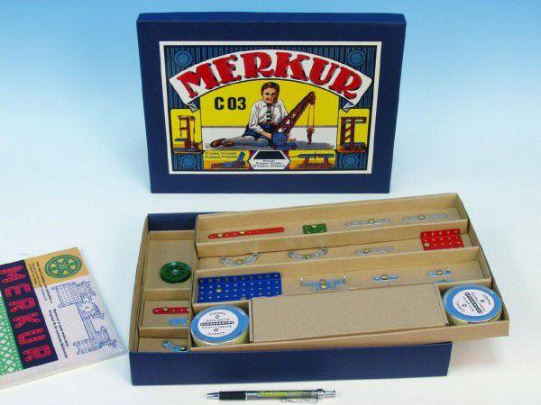 MERKUR Classic C03 Stavebnice 1modelů v krabici 35,5x27,5x5cm