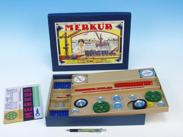 MERKUR Classic C04 Stavebnice 183 modelů v krabici 35,5x27,5x5cm