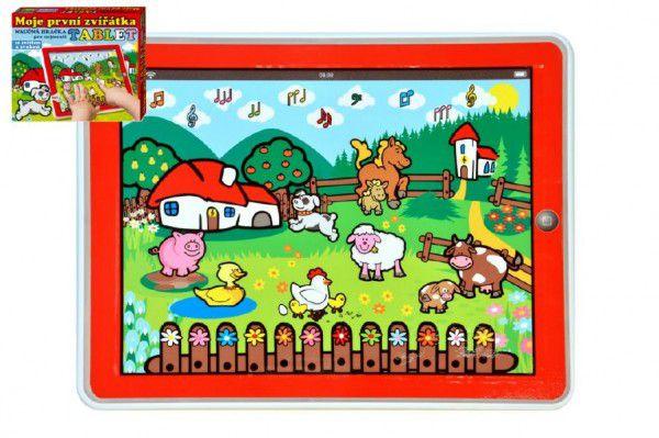 Teddies Tablet farma Moje první zvířátka