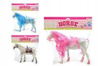 Kůň fliška 32cm asst 3 barvy v sáčku