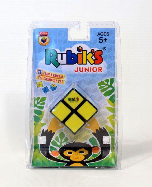 Rubikova kostka Junior 2x2 hlavolam plast na kartě 12x19cm