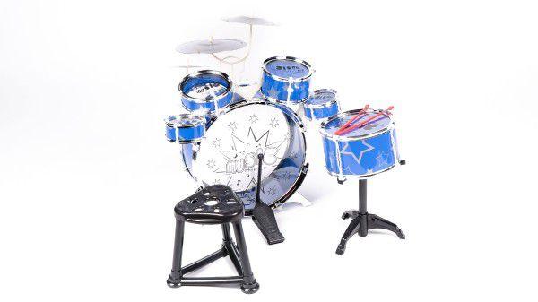 Bicí souprava/bubny 6ks plast asst v krabici 40x40x22cm