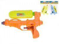 Vodní pistole plast 19cm asst 3 barvy v sáčku