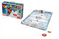 Hra hokej vrchnáčky plast v krabici 39x27cm