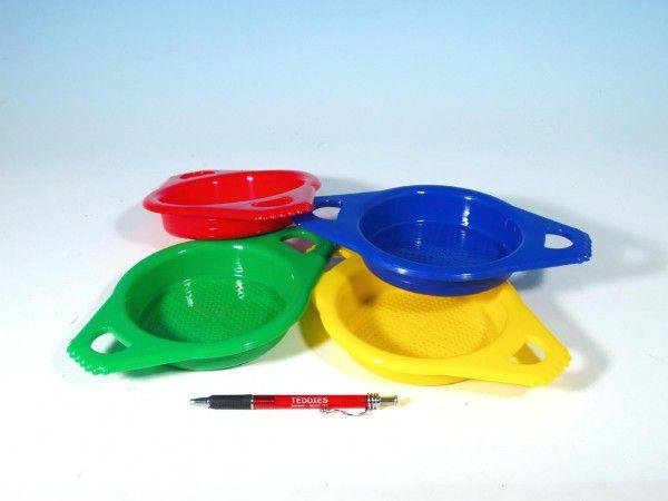Sítko plast 15cm asst 4 barvy 12m+