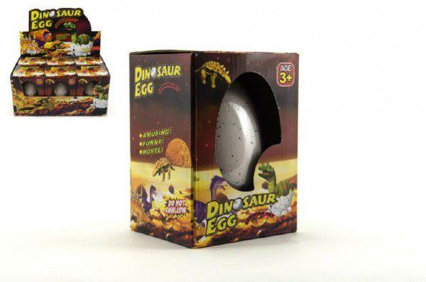 Teddies Dinosaurus velký líhnoucí a rostoucí z vajíčka 11cm v krabičce 6 ks v boxu