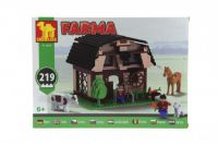 Stavebnice Dromader Farma 28508 219ks v krabici 35x25x5cm