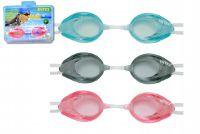 Plavecké brýle asst 3 druhy na kartě 8+