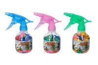 Pumpa na vodní bomby + bomby 50ks plast 17cm asst 3 barvy