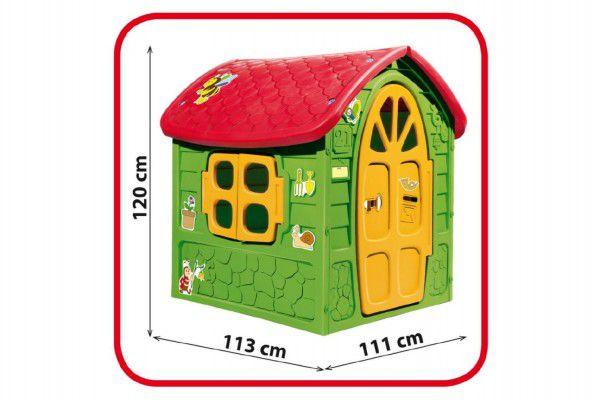 Teddies 57797 Domeček plastový 111x120x113cm