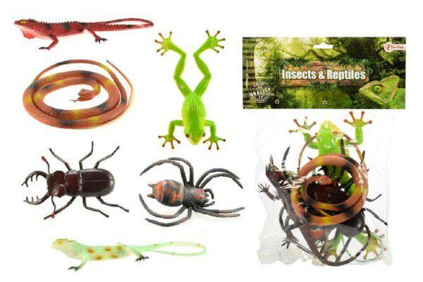 Teddies 57830 Zvířátka plazi/hmyz plast
