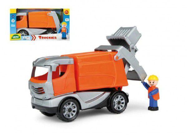 Lena Auto popeláři Truckies plast 25cm