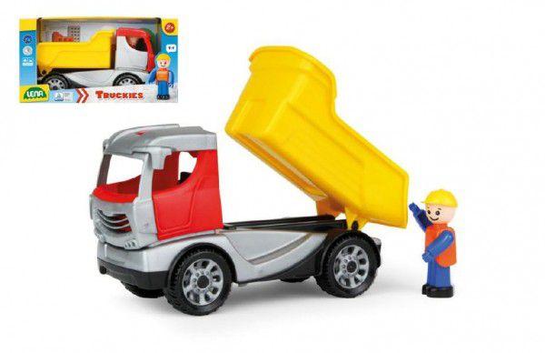 Lena Auto Truckies sklápěč plast 22cm s figurkou