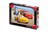 Puzzle Cars/Auta na pláži 24 dílků 26x18 cm v krabici 27x19x3,5cm
