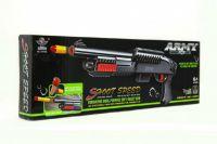 Pistole/puška na pěnové náboje plast 56cm v krabici