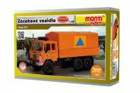 Stavebnice Monti 74 Tatra 815 zásahové vozidlo 1:48 v krabici 22x15x6cm