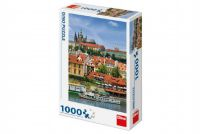 Teddies Puzzle Pražský hrad 47x66cm 1000 dílků