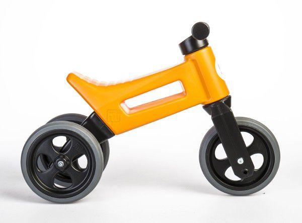 Odrážedlo FUNNY WHEELS NEW SPORT 2v1 oranžové výška sedadla nastavitelná 28/31cm nosnost 50kg 18m+
