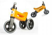 Teddies FUNNY WHEELS NEW SPORT 2v1 Odrážedlo oranžové