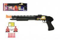 Pistole na přísavky s doplňky plast 50cm na kartě