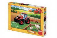 Puzzle Zetor orba 26x18 cm 24 dílků v krabici 27x19x4cm