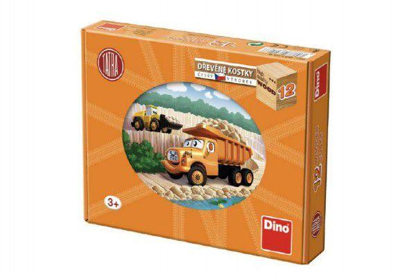 Topa kostky kubus Tatra dřevo 12ks v krabičce