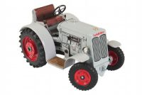 Teddies Schlüter DS Kovap 25 Traktor šedivý na klíček kov 1:25