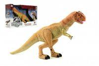 Teddies Dinosaurus chodící plast 45cm na baterie se světlem a zvukem