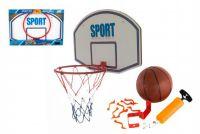Basketbalový koš s míčkem kov 61cm v krabici
