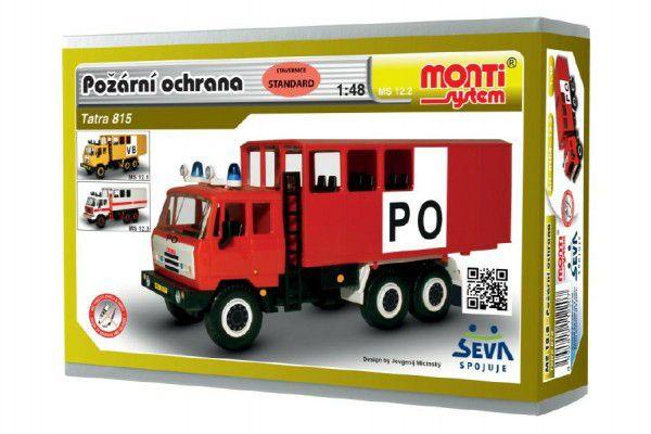 93ffec1b8 Monti 12.2 Tatra 81Stavebnice Hasiči Požární ochrana 1:48