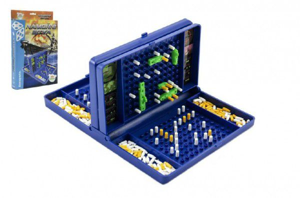Námořní bitva společenská hra v krabici 19x29x3,5cm