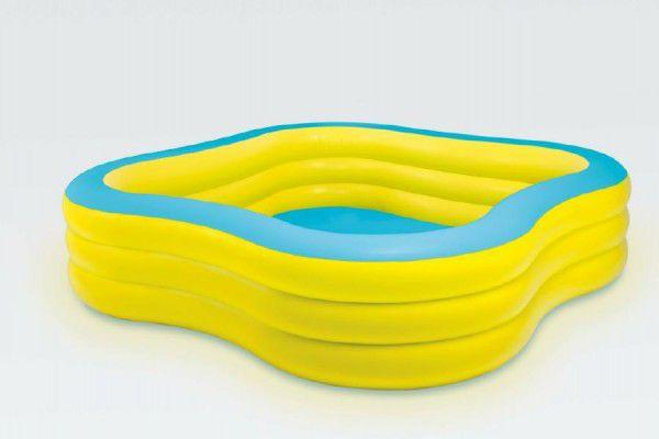 Teddies 58335 Bazén nafukovací čtvercový 229x229x56cm od 6 let