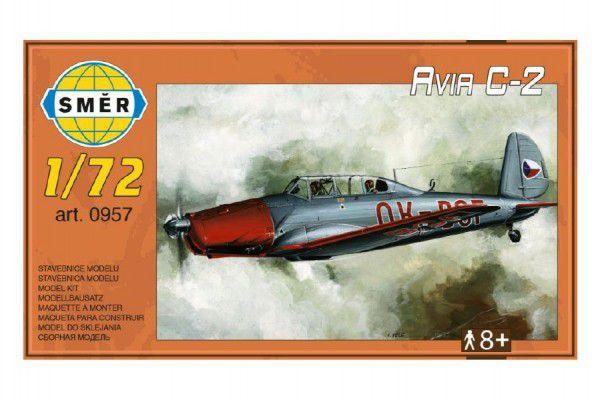 Směr plastikový model letadla ke slepení Avia C 2 15 1:72