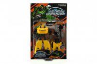 Transformer auto/robot plast 18cm na kartě