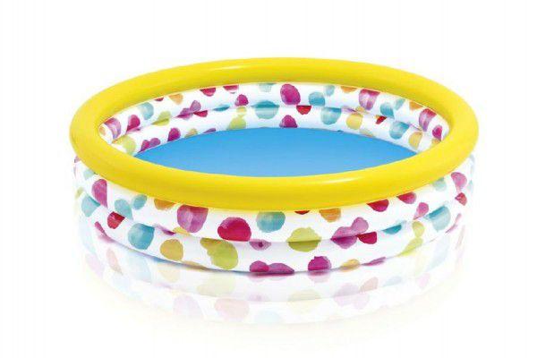 Bazén dětský s puntíky nafukovací 12+