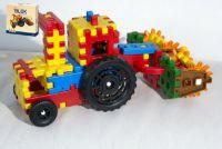 Teddies Stavebnice Blok farmář plast 172ks v krabici 35x33x8cm