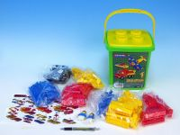 Cheva Stavebnice 1 Basic plast 309ks v kbelíku 20x22x20cm