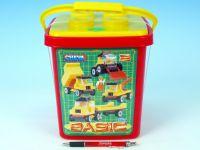 Cheva Stavebnice 2 Basic plast 352ks v kbelíku 17x22x17cm