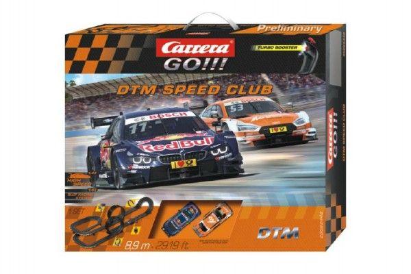 Autodráha Carrera GO!!! 62448 DTM Speed Club 8,9 m