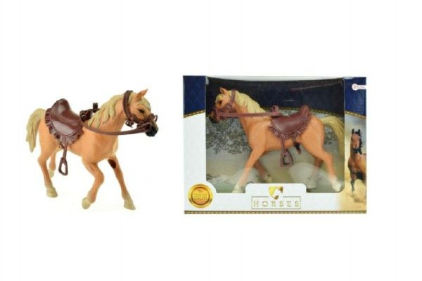 Kůň plast 17cm v krabici 24x19x6cm