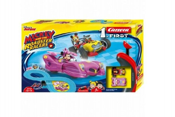Autodráha Carrera 1. First Mickey Racers 2,4 m