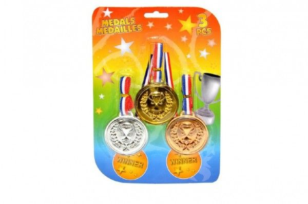 Medaile 3ks