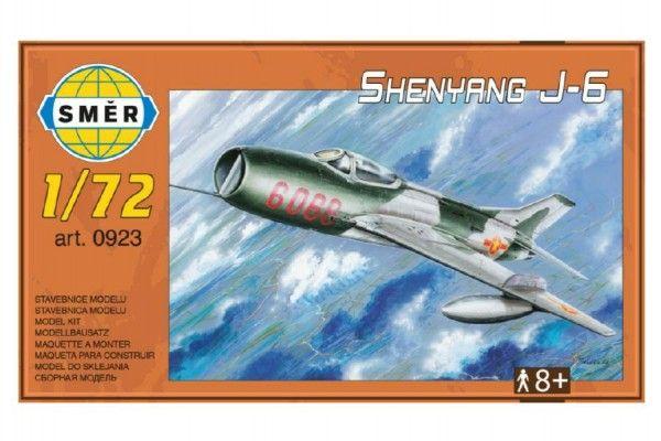 Model Shenyang J-6 12,5x18cm v krabici 25x14x5cm