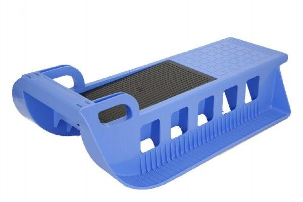 Sáně Kamzík plast 86x25x40cm modrá