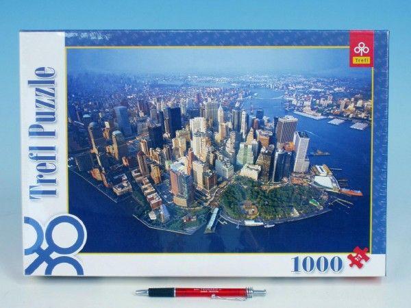 Teddies Puzzle New York, 1000 dílků, 683 x 480 mm