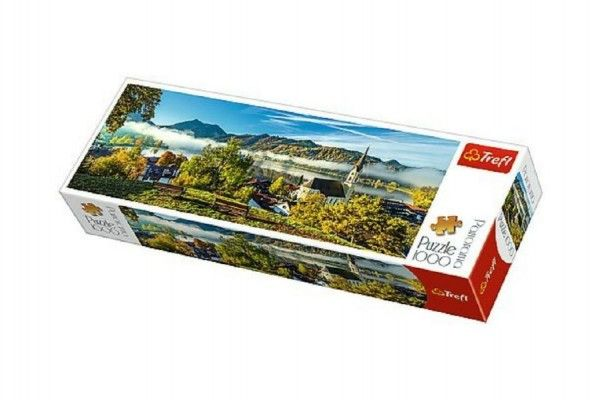 Teddies Puzzle Jezero Schliersee, 1000 dílků, 40 x 13 x 7 cm