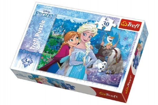 Puzzle Frozen/Ledové království 27 x 20 cm 30 dílků