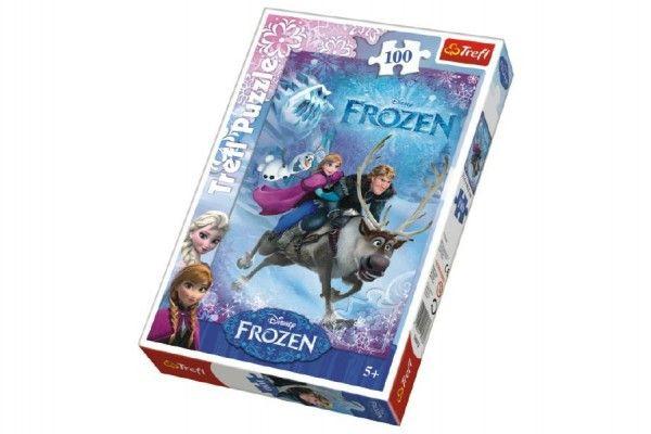Puzzle Frozen/Ledové království  100 dílků 20x29x4cm