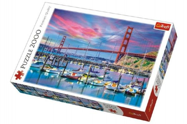 Puzzle Golden Gate, San Francisco - 2000 dílků